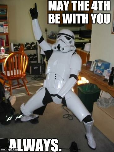 Star Wars Fan | MAY THE 4TH BE WITH YOU  ALWAYS. | image tagged in star wars fan | made w/ Imgflip meme maker