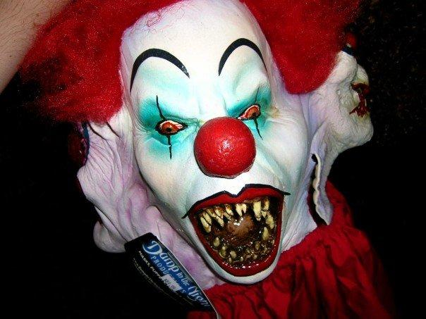 Scary ass clown pictures 4