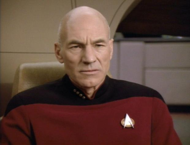 High Quality Picard Annoyed Blank Meme Template