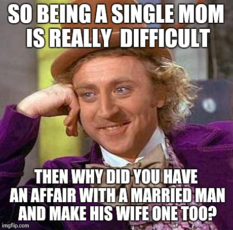 Single mom dating married man