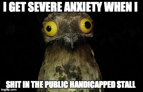 Pooping In Public Bathrooms Weird Stuff I Do Potoo Meme