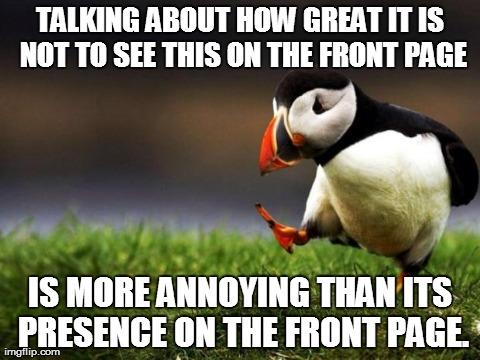 Unpopular Opinion Puffin Meme - Imgflip