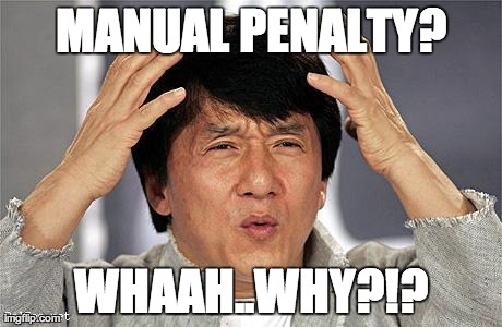 Google manual penalty meme