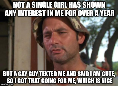 I am a single gay guy on the prowl