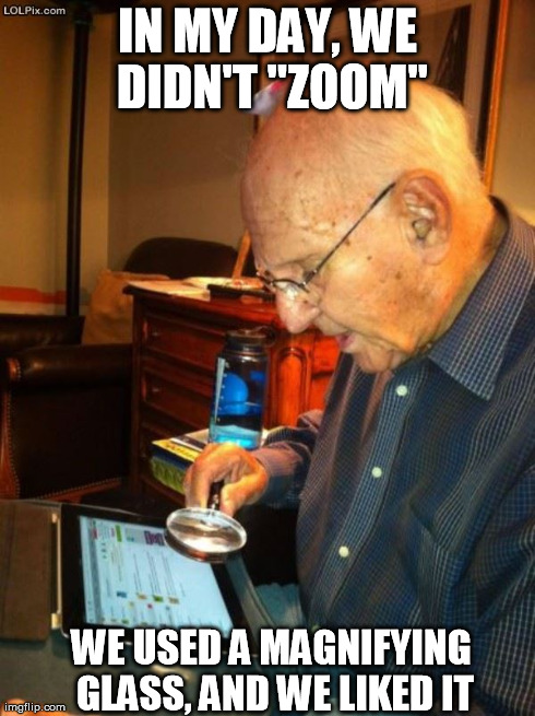 Image result for old guy at the computer meme
