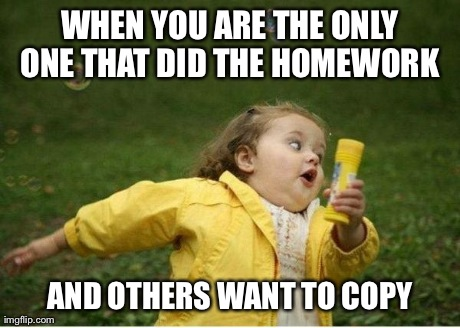 Homework copy meme - copy, paste, urn in homework kiss the