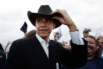 Obama Cowboy Hat Meme Template