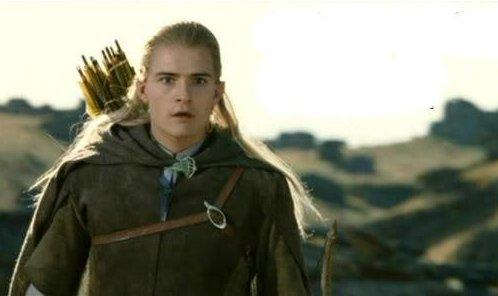 High Quality Legolas elf eyes Blank Meme Template