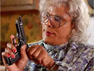 9udsy madea with gun blank template imgflip