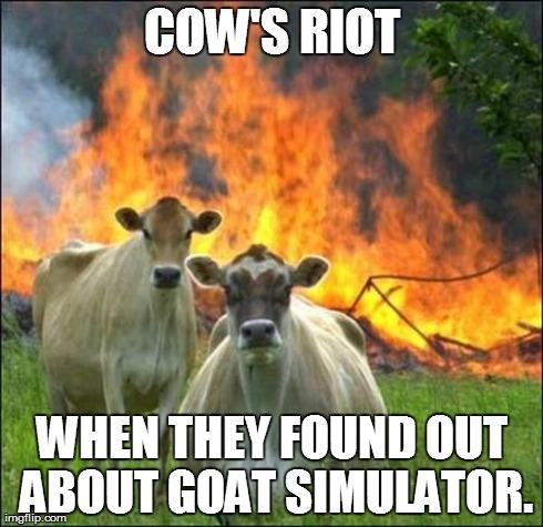Evil Cows Meme Imgflip
