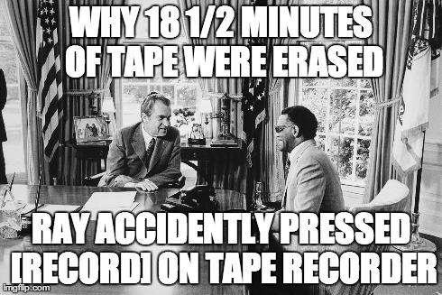 Watergate's Infamous 18 1/2 Minute Gap explained