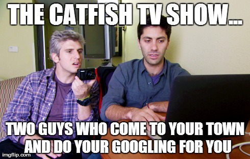 What is catfish - Definition from