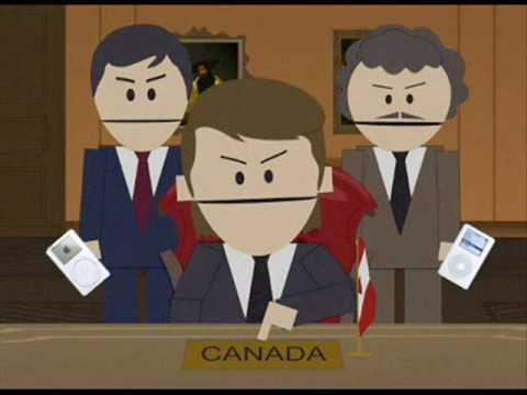 High Quality South Park Canadians Blank Meme Template