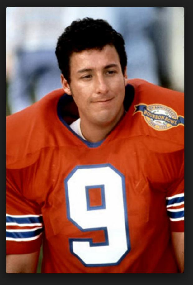 The waterboy Meme Template