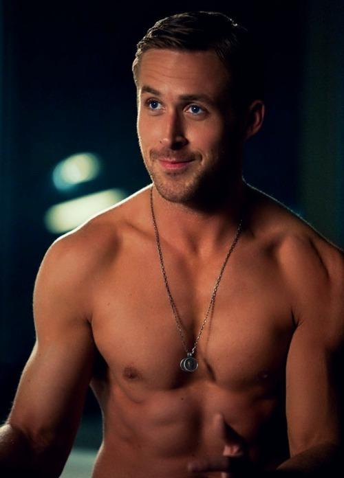 High Quality Ryan Gosling Shirtless Blank Meme Template