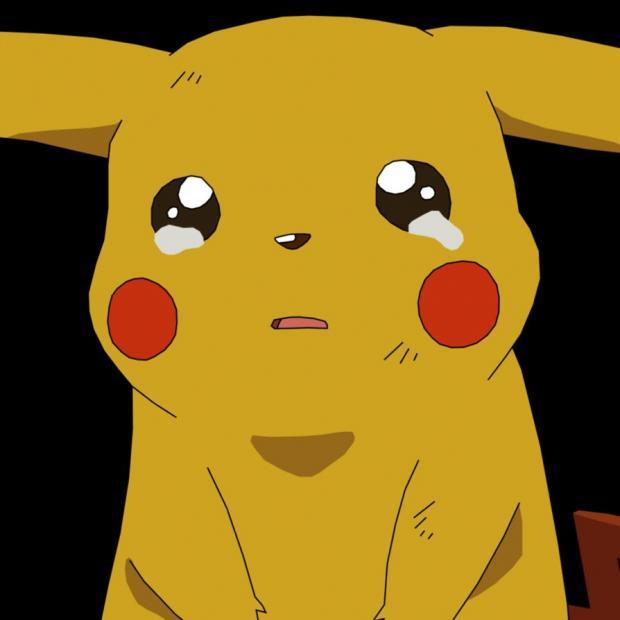 Pikachu crying Blank Template - Imgflip