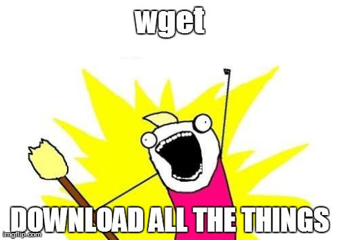 wget – Download ALL THE THINGS! | Learn some basic Linux with Me
