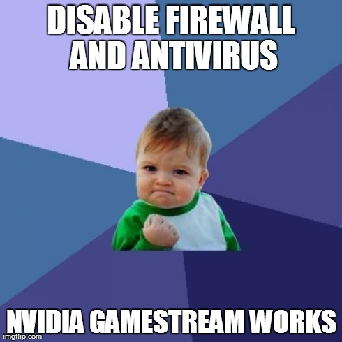 nvidia how to change gamestream settings