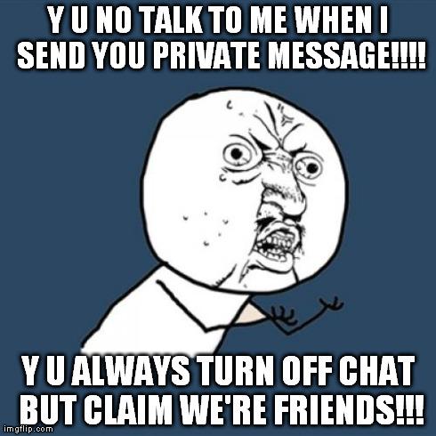 Talk to friends online