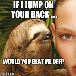 Sloth Meme Whisper
