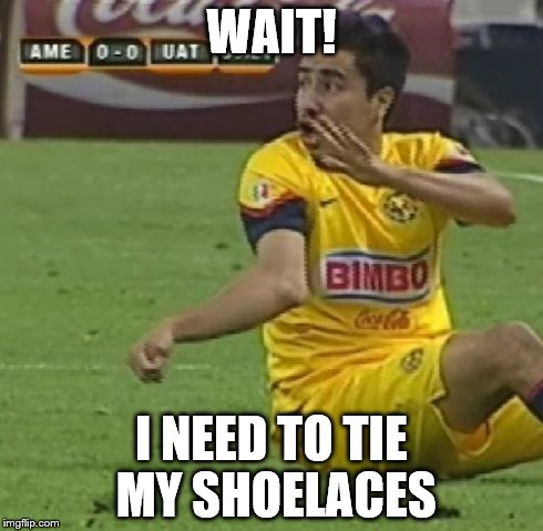 Efrain Juarez | WAIT! I NEED TO TIE MY SHOELACES | image tagged in memes,efrain juarez | made w/ Imgflip meme maker