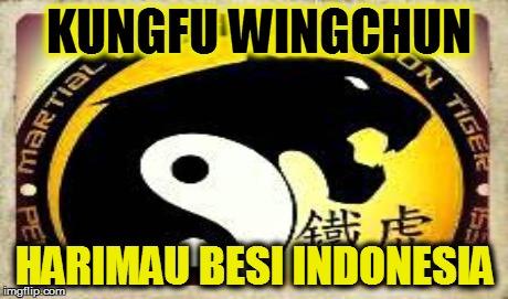 bsp3d Logo Wingchun harimau Besi Kreasi Murid2 HB