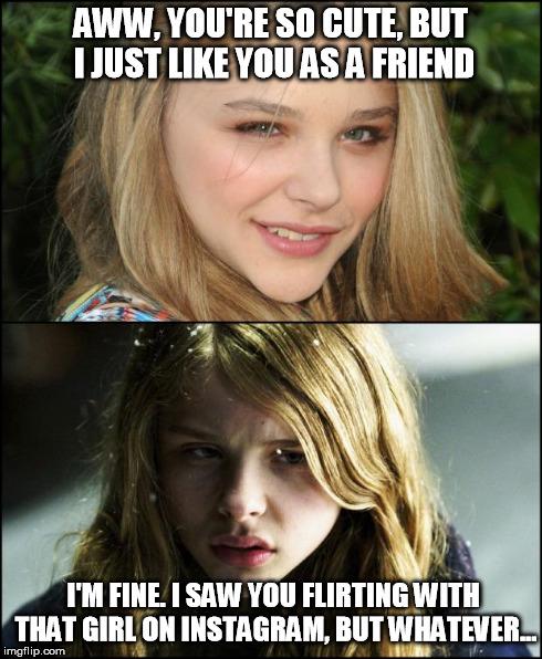 flirting signs on facebook meme girl meme generator