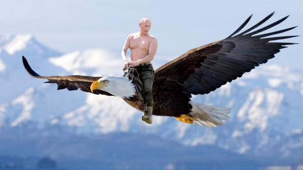 High Quality Putin Eagle Blank Meme Template
