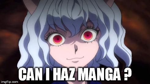 Can i haz manga ?