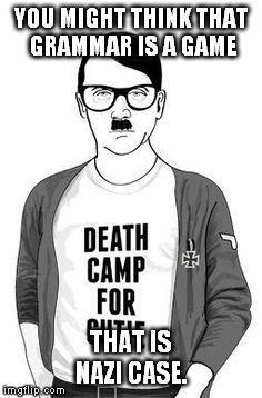 Hipster nazi haircut