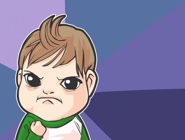 Cartoon Success Kid Blank Template - Imgflip