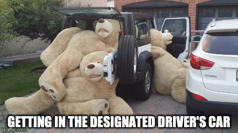 After drinking | GETTING IN THE DESIGNATED DRIVER'S CAR | image tagged in drinking,funny,friends | made w/ Imgflip meme maker