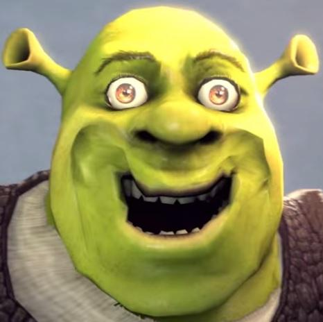 Shrek Rape Face Meme Template