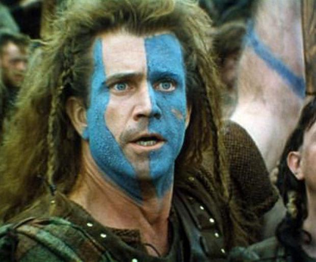 William Wallace Shocked Meme Template