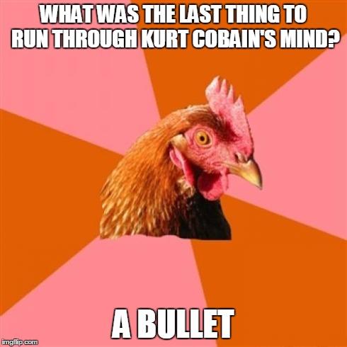 Anti Joke Chicken Meme - Imgflip Anti Joke Chicken Meme