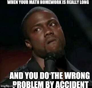 Do math homework you