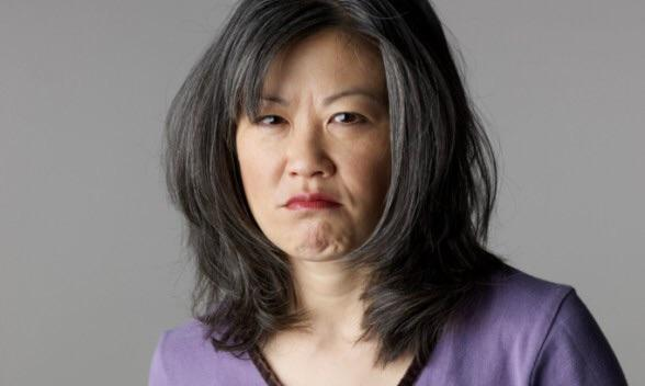 Image result for angry asian lady""