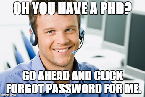 Having a phd