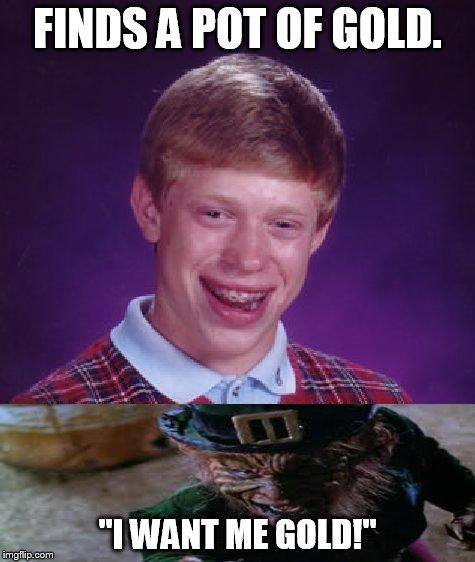 bad luck brian blank