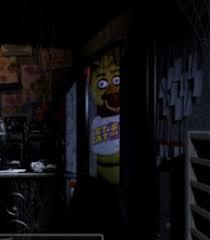 Chica Looking In Window FNAF Blank Meme Template