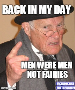 Back In My Day Meme Imgflip