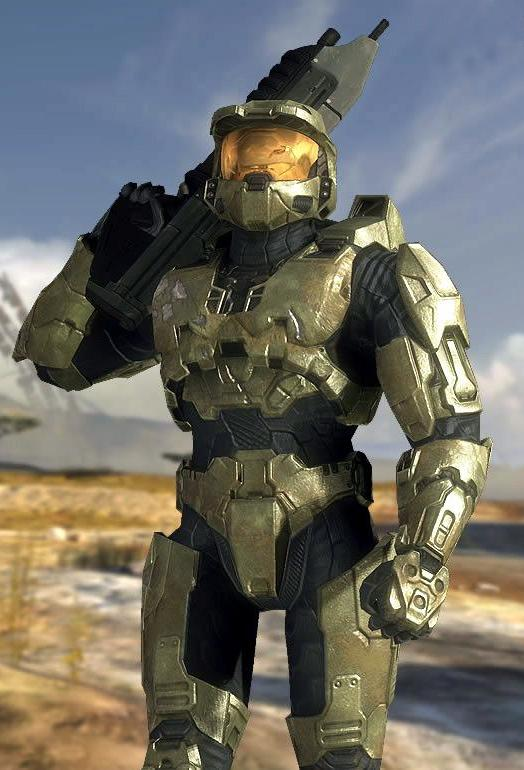 Master Chief Blank Template Imgflip