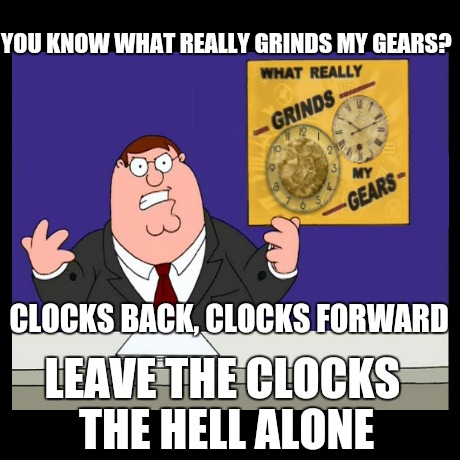 Leave the Clocks the HELL ALONE! | YOU KNOW WHAT REALLY GRINDS MY GEARS? LEAVE THE CLOCKS THE HELL ALONE CLOCKS BACK, CLOCKS FORWARD | image tagged in alarm clock,clock,daylight saving time,standard time,hour,grind my gears | made w/ Imgflip meme maker