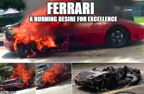 Burning Desire For Excellence Imgflip