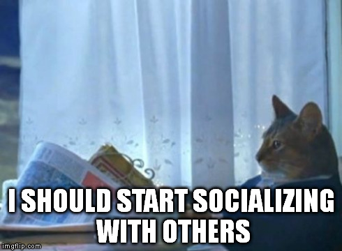 As Someone Who Doesnt Have Many Friends And Enjoys Hanging Out With