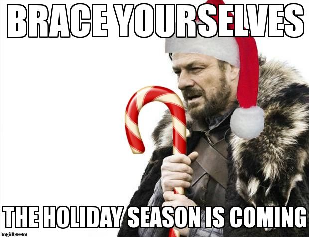 holidays are coming