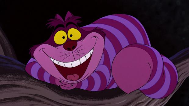 Cheshire Cat Blank Template