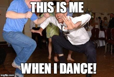 I can't dance! | ! | image tagged in my dancing skill limit,psy horse dance,dance dance,pole dancer | made w/ Imgflip meme maker