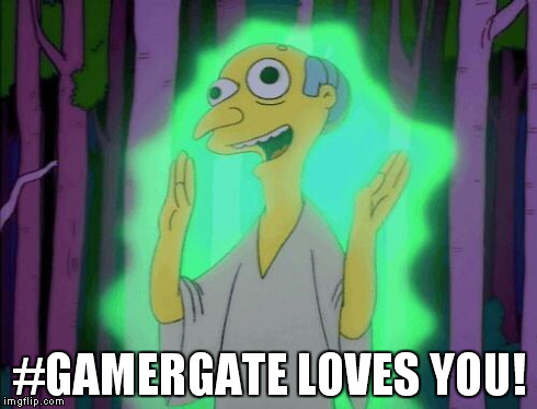 #GAMERGATE LOVES YOU! | image tagged in gamergurugate | made w/ Imgflip meme maker