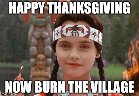 thanksgiving clapback 2018